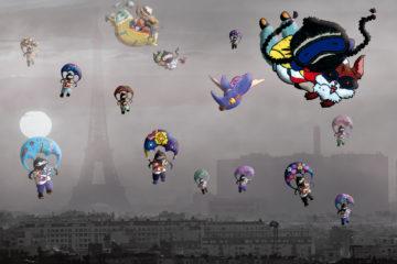 Collages. Zapatistas sobre París